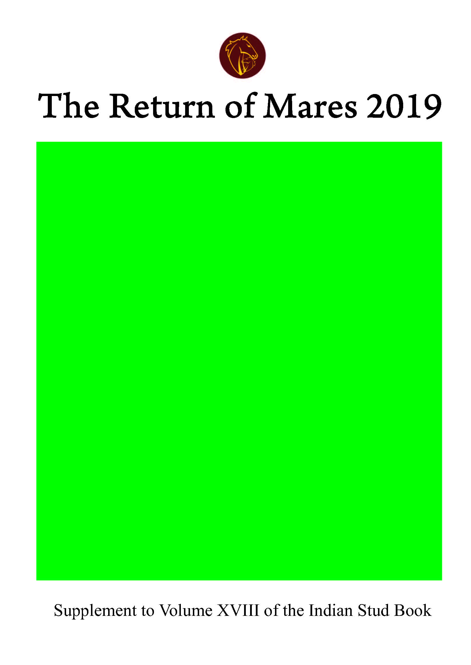 The Return of Mares - 2019